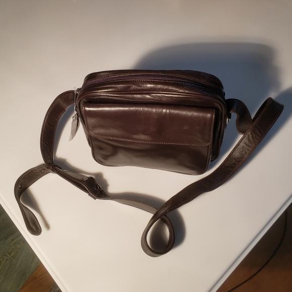Donna Karan Handbags - Donna Karan Dark Brown Shoulder Bag - NWT